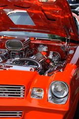 Automotor verchromt