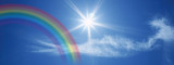Fototapety rainbow in the sky