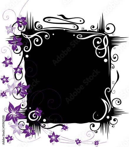leinwanddruck bild christine krahl bl tenrahmen filigran wandbilder leinwanddruck. Black Bedroom Furniture Sets. Home Design Ideas