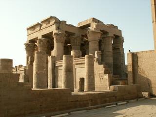 EGYPTE  TEMPLE DE SOBEK ET D'HORUS