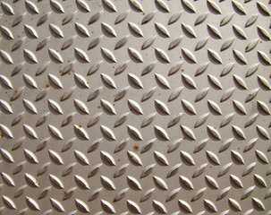 diamond  pattern shhet of steel