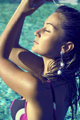 Sweet swimming