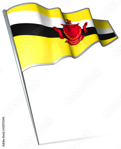 Flag pin - Brunei