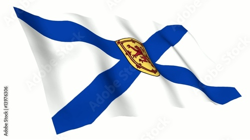 Nova Scotia Animated Flag