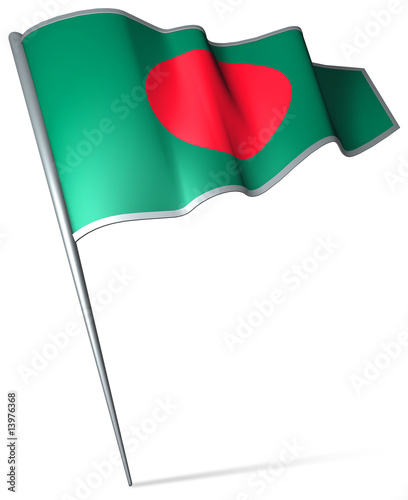 Flag pin - Bangladesh