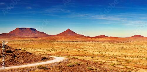 African landscape, Damaraland, Namibia - 13980190