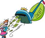 Debt Vacuum poster