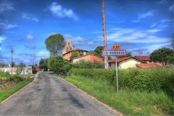 Le Burgaud, village de France