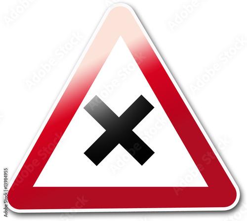 panneau routier croix de roques jean chris photo libre de droits 13984955 sur. Black Bedroom Furniture Sets. Home Design Ideas