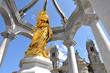 Leinwanddruck Bild - Einsiedeln, Marienbrunnen
