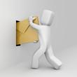 Person send mail