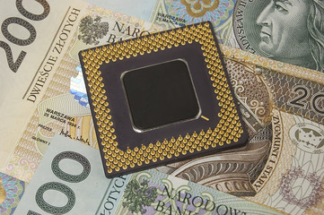 processor on polish money