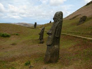 Rano Raraku. Easter Island.