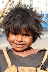 Smile in Poverty
