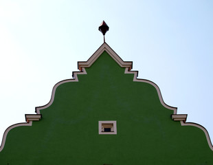 Barocke Hausfassade