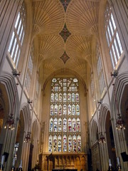 Bath Abbey, Bath, Sommerset, England