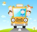 funny school bus