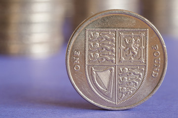 British pound coin