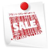 Paper sale announcement poster