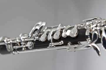 Oboe Keys Closeup