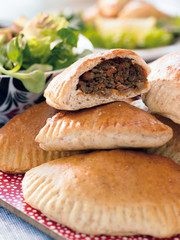 Pasty with beef