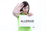 Allergie poster