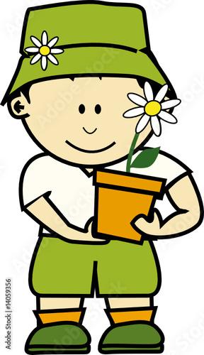 K jardinier 1 fichier vectoriel libre de droits sur la for Tarif jardinier