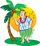 Tourist Hula Dance