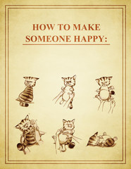 HOW TO MAKE SOMEONE HAPPY