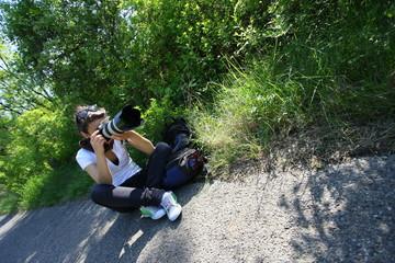 giovane fotografa
