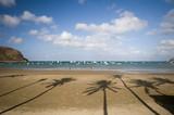 beach san juan del sur nicaragua central america poster