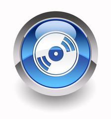 CD-DVD glossy icon