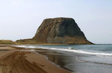 Cape Kovrizhka  on  seaside of the island Sakhalin.