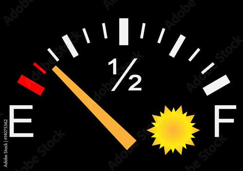 gauge de soleil