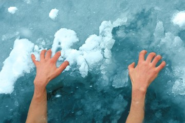 Hands on ice