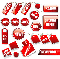Sales Tags and Stickers