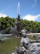 Fountain - Springbrunnen mit Skulptur