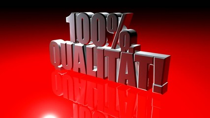 100% Qualität!