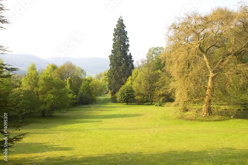 "Leinwandbild Motiv parks and gardens of a French castle "" barbirey 21 """