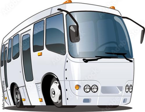 Vector cartoon bus