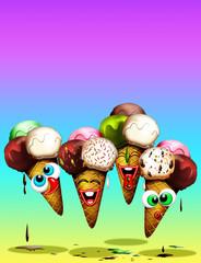 Gelato-Ice Cream-Glace-Dessert