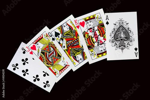 стрит в покере с тузом пример