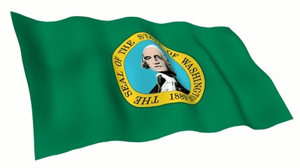 Washington (US) Animated Flag