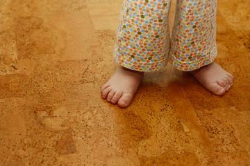 Kork-Boden - angenehmes Fuß-Gefühl