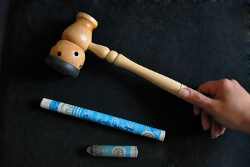 Alternative Therapy: acupunture set tools