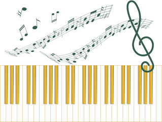 Illustration of music