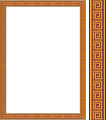 Vector antique frame