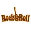 Seventies Rock & Roll vintage T-shirt design
