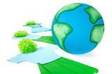 ensemble sauvons la planète poster