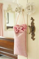 Pot Pourri Hanging On Door Handle